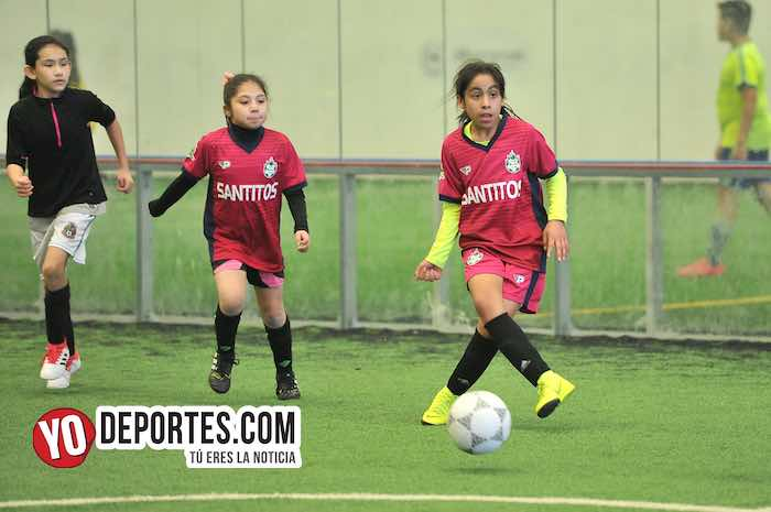 Las Matildas-Santitas-Liga Douglas Kids