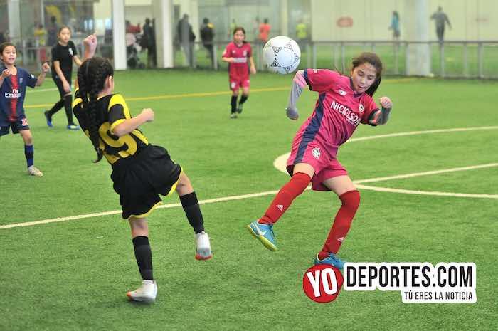 Las Matildas-Santitas-Liga Douglas mujeres futbol