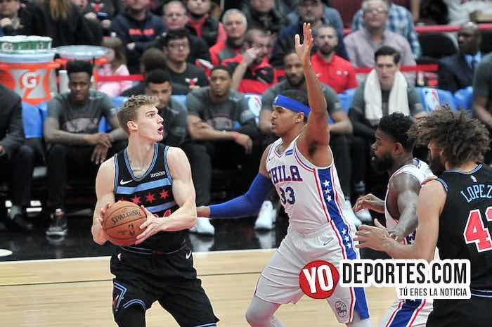 Lauri Markkanen-Tobias Harris-Chicago Bulls-Philadelphia 76ERS-United Center