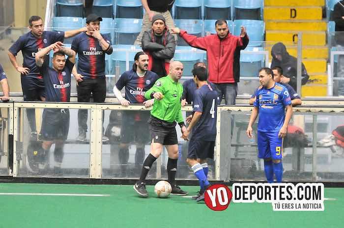 Mexcaltepec-Tierra Caliente-Hispano Soccer League veteranos Indoor Odeum Villa Park