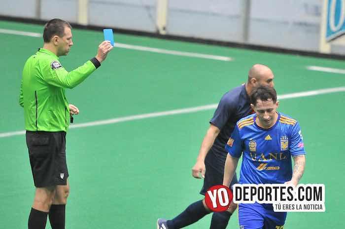 Mexcaltepec-Tierra Caliente-Hispano Soccer League veteranos arbitro