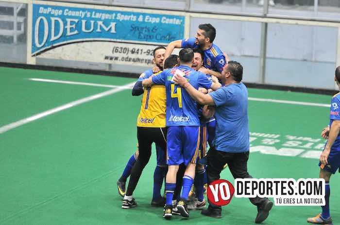 Mexcaltepec campeón de veteranos por penales en la Hispano Soccer League