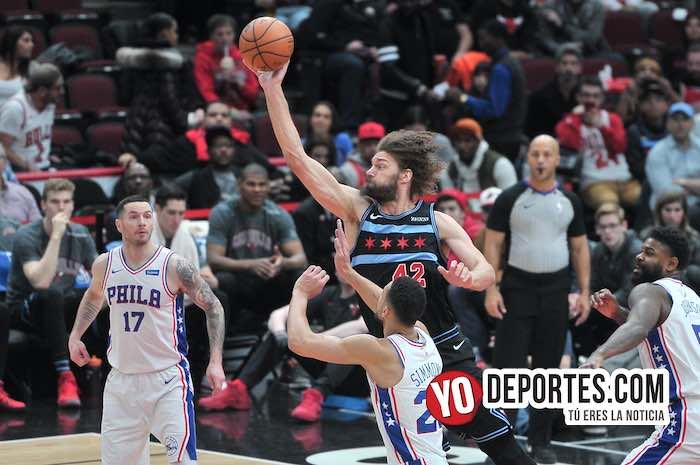 ¡Ganaron los Bulls! Alcanzan y les quitan el juego a los 76ers de Filadelfia