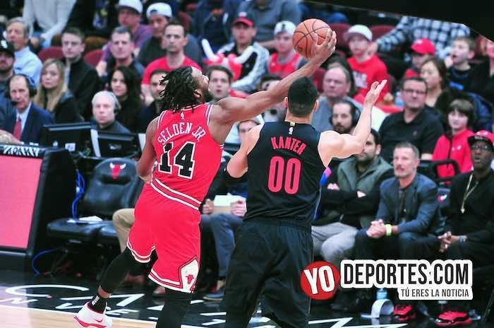 Wayne Selden-Enes Kanter-Chicago Bulls-Portland Trail Blazers United Center