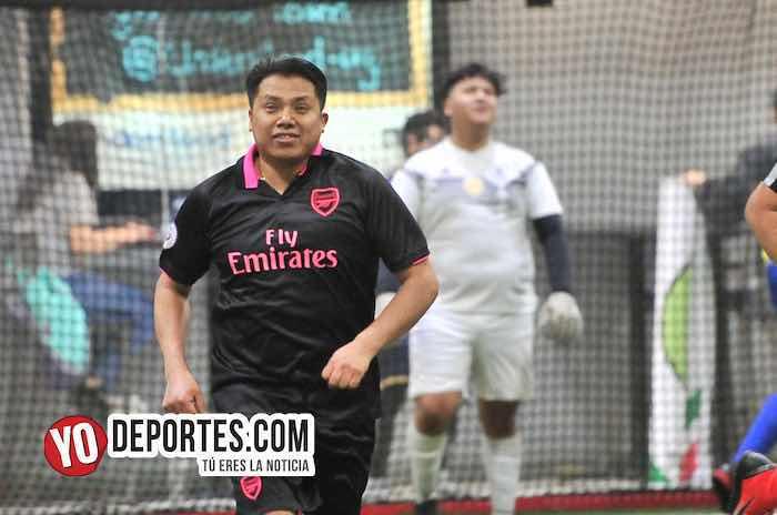 Alejandro Zavaleta-Arsenal-Deportivo Azul-Liga 5 de Mayo-juego de ida