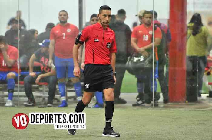 Arbitro Erick del Rosario-Azteca de Oro-Real Juventud-Liga 5 de Mayo-semifinal