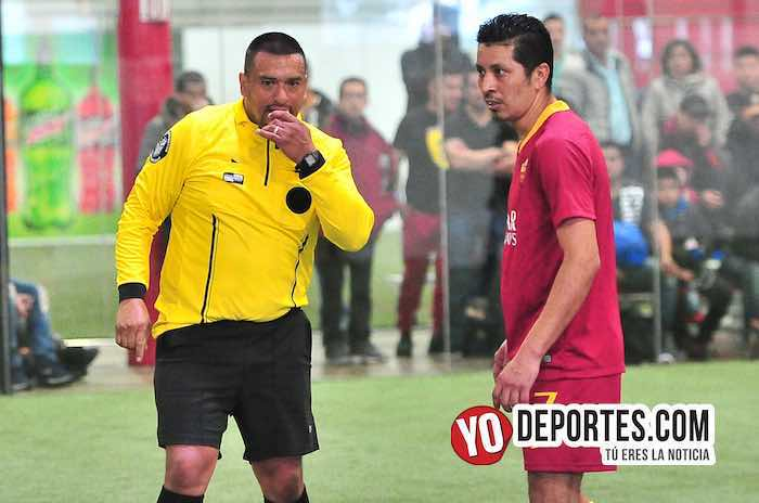 Arbitro Guillermo Caballero-Honduras-Atlante-Liga 5 de Mayo