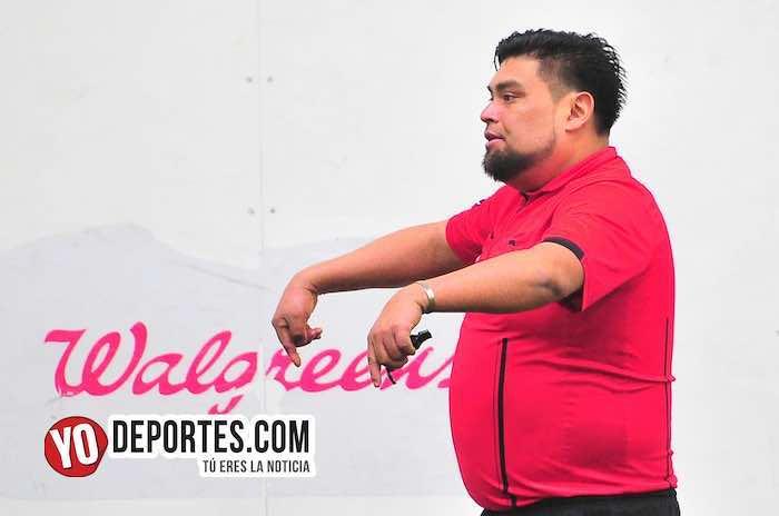 Arbitro Miguel Gutierrez-Fierro FC-Yasminas-Liga Douglas Femenil-martes
