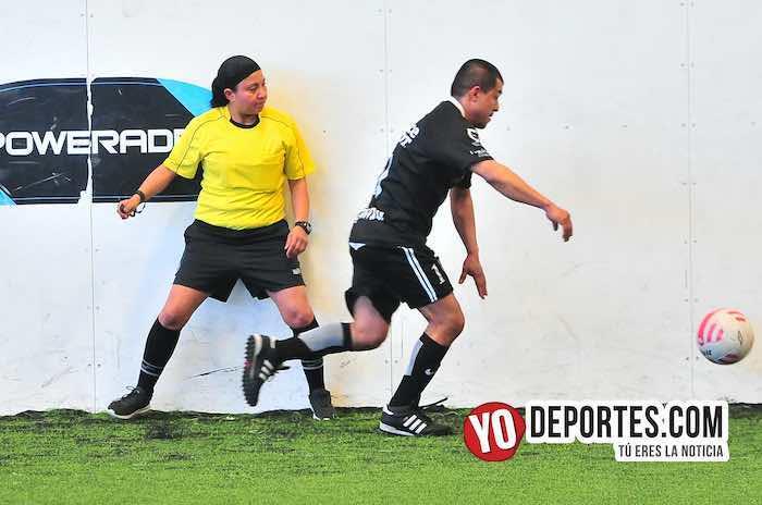 Arbitro Rosalba Luna-Pachuca-Porto Alegre-Liga Douglas-semifinal