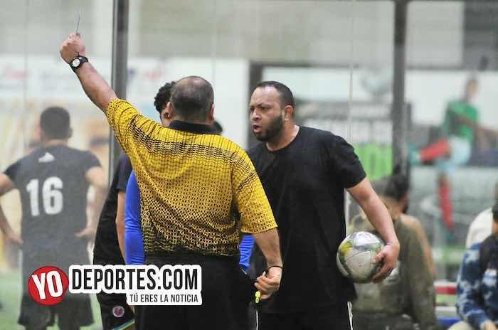 Arsenal-Deportivo Azul-Liga 5 de Mayo-juego de ida futbol indoor