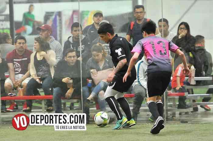 Azteca de Oro-Real Juventud-Liga 5 de Mayo-semifinal Chicago Indoor Sports