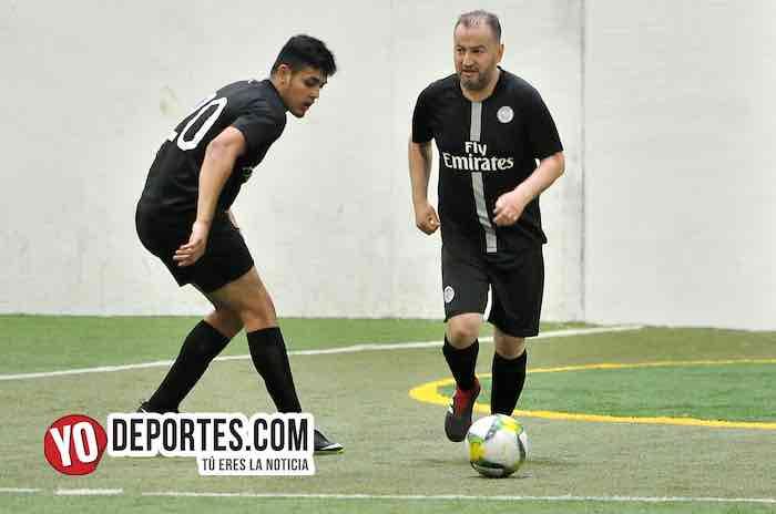 Azteca de Oro-Real Juventud-Liga 5 de Mayo-semifinal futbol indoor