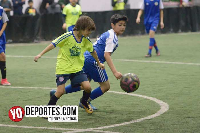 Black Lions-Magic-Liga Guerrerense futbol indoor YMCA
