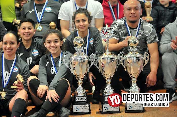 CD Vagos gana la Triple Corona en la Liga Interamericana