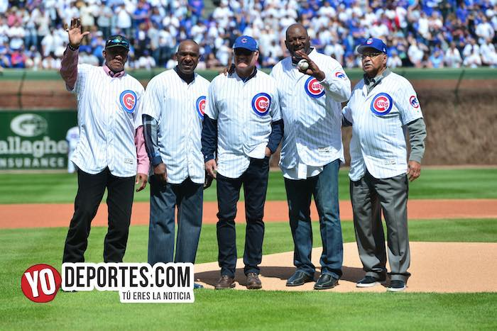 Chicago Cubs Wrigley Field-Opening Day 2019 hall of fame