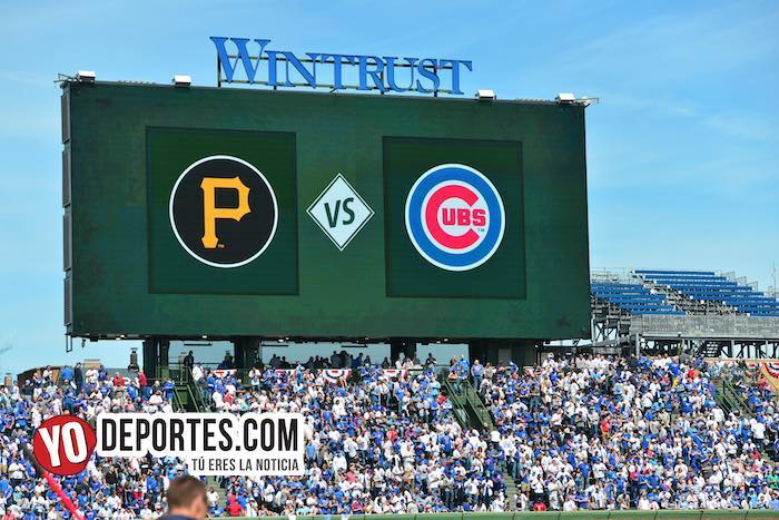 Chicago Cubs Wrigley Field-Piratas de Pittsburgh-Opening Day 2019