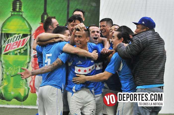 Chicago Soccer bicampeón de la Champions en la Liga Latinoamericana