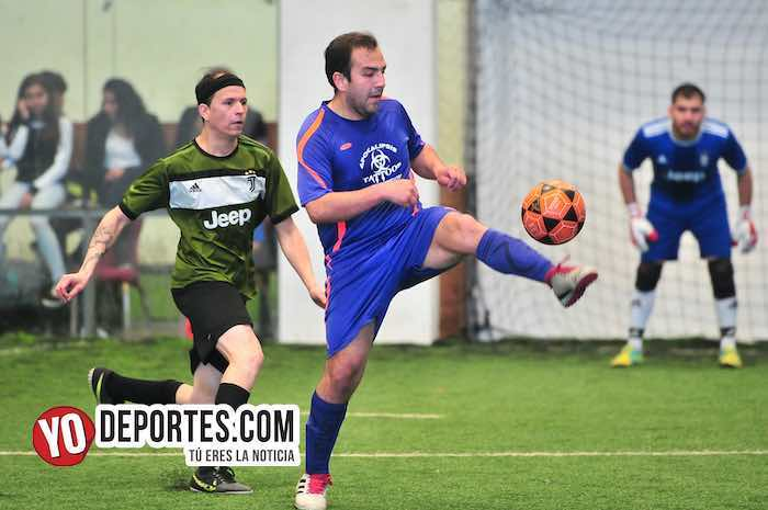 Deportivo Guerrero-DC Victoria-Liga Douglas-semifinal indoor soccer
