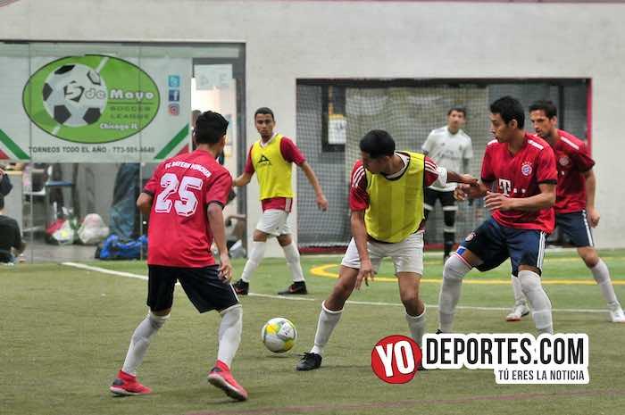 Deportivo Morelos-Estrella Roja Semifinal-Liga 5 de Mayo Chicago Indoor Sports