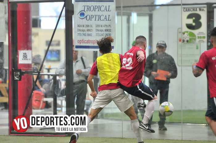 Deportivo Morelos-Estrella Roja Semifinal-Liga 5 de Mayo Soccer League