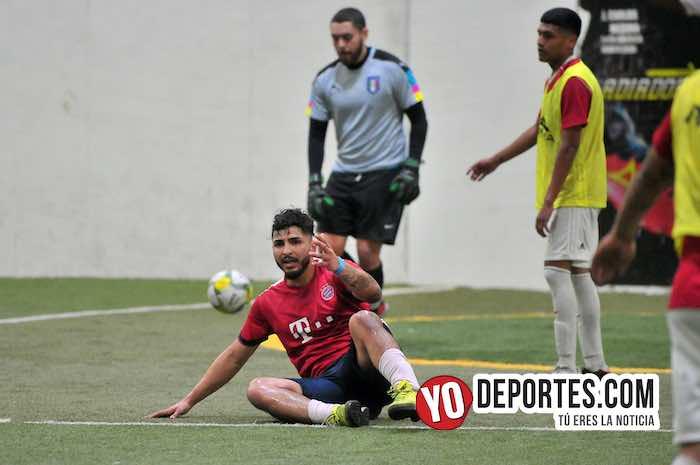 Deportivo Morelos-Estrella Roja Semifinal-Liga 5 de Mayo indoor soccer league Chicago