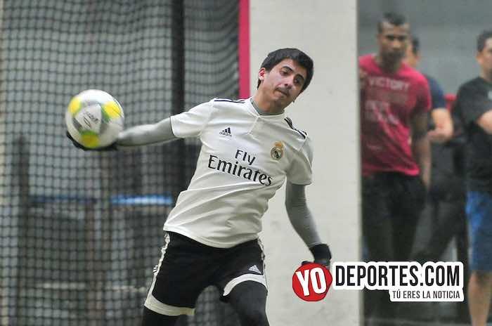 Deportivo Morelos-Estrella Roja Semifinal-Liga 5 de Mayo indoor soccer