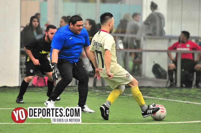 Diablos-La Chona-Final Recopa Liga Jalisco soccer indoor