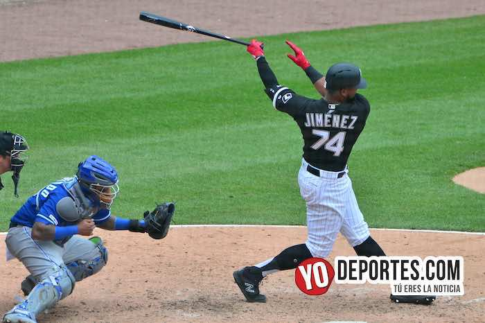 Eloy Jimenez-Chicago White Sox-Kansas City Royals