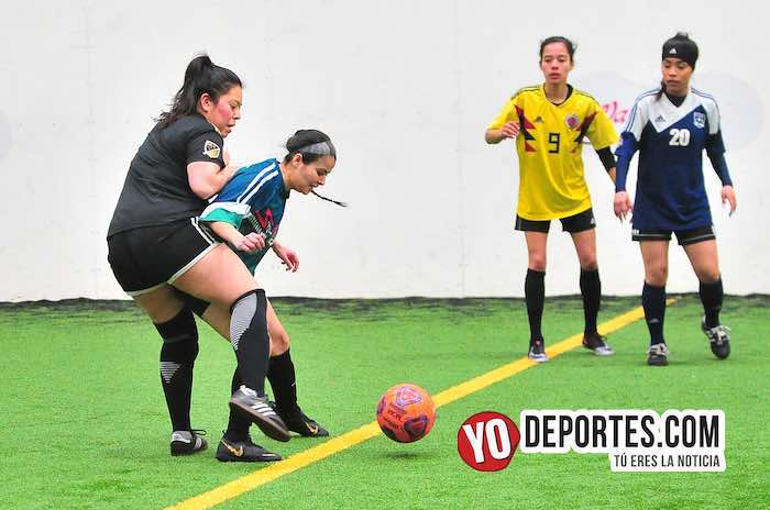 Fierro FC-Yasminas-Liga Douglas Femenil-martes Chicago Sports Complex