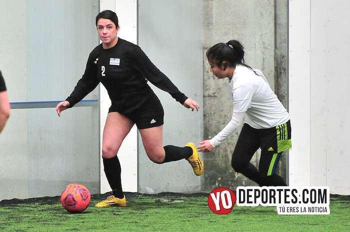 Fierro FC-Yasminas-Liga Douglas Femenil-martes futbol