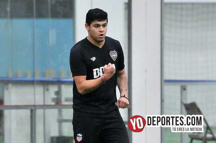 """Gerardo """"Nene"""" Ortíz se despachó con 5 goles en la Supercopa de los Martes"""