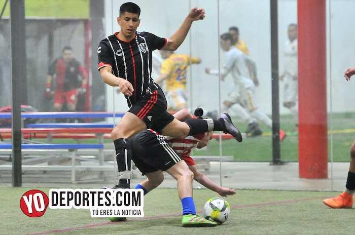 Globoys-San Marcos-Semifinal-Liga 5 de Mayo futbol indoor Chicago
