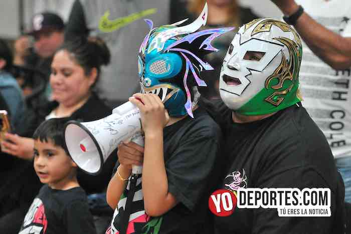 Hijo del Alebrije-Discovery-Super Kaoz-Relampago-Yakuza-Disc Jocker-Lucha Libre Total Chicago Eagles Club