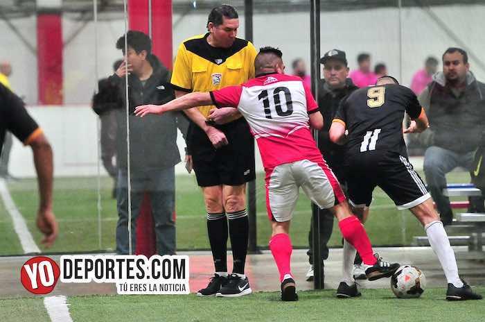 Ibarra-Pirma Leon-Liga Latinoamericana-semifinal veteranos arbitro jorge ruiz