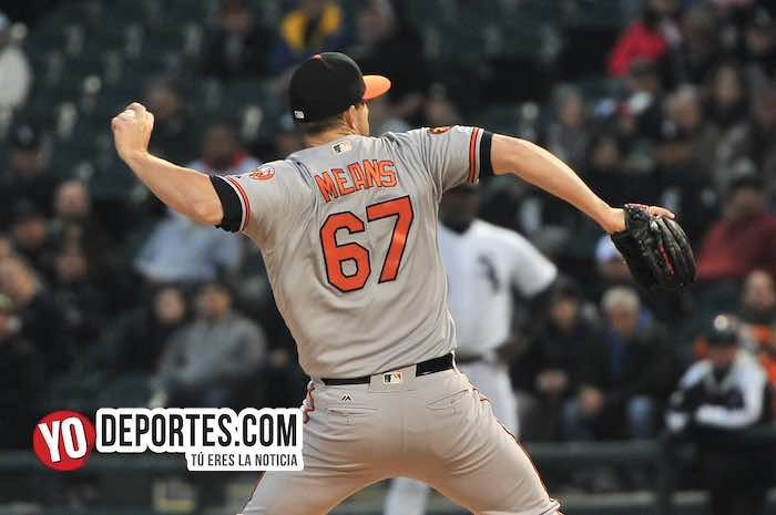 John Means-Chicago White Sox-Baltimore Orioles