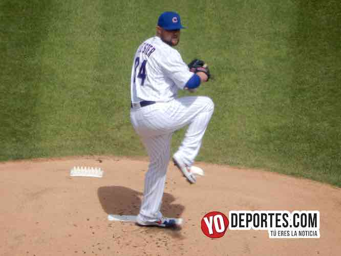 Jon Lester-Chicago Cubs-Los Angeles Dodgers-Wrigley Field