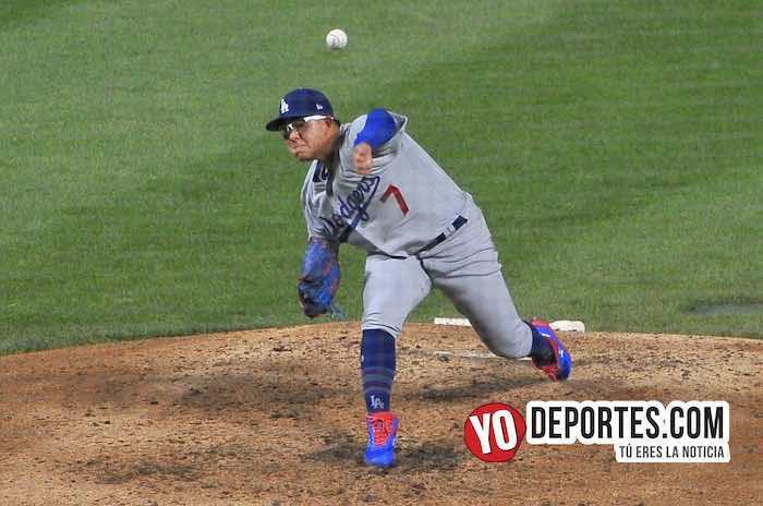 Julio Urias-Chicago Cubs-Los Angeles Dodgers