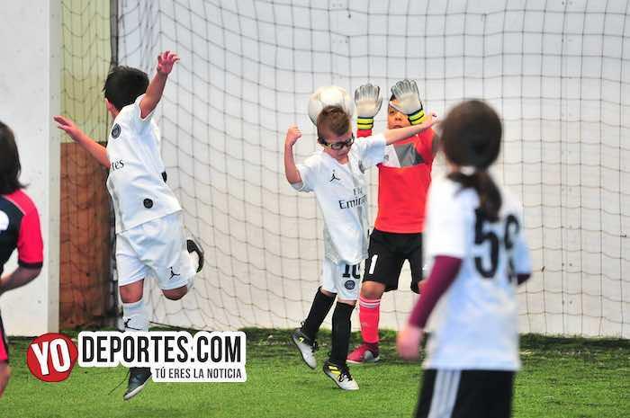 La Villita-Atlas United-Liga Douglas Kids Indoor Soccer 35 y California