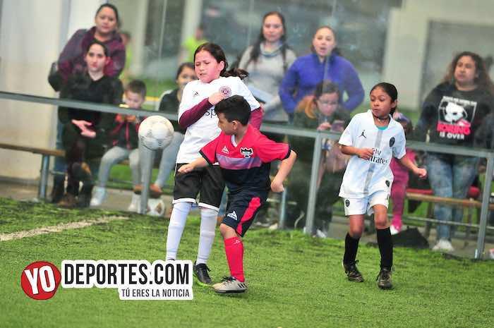 La Villita-Atlas United-Liga Douglas Kids futbol indoor