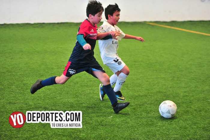 La Villita-Atlas United-Liga Douglas Kids futbol rapido indoor