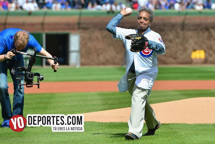 Lori Lightfoot elect mayor-Chicago Cubs Wrigley Field-Opening Day 2019