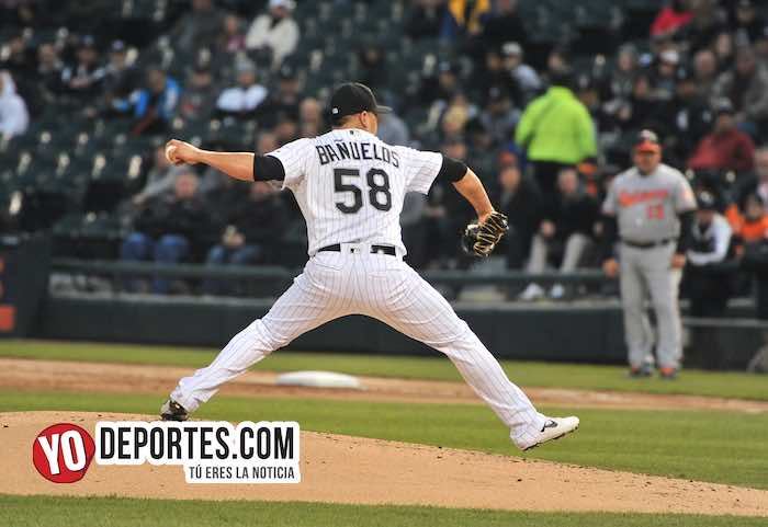 Manny Banuelos-Chicago White Sox-Baltimore Orioles Guaranteed Rate Field