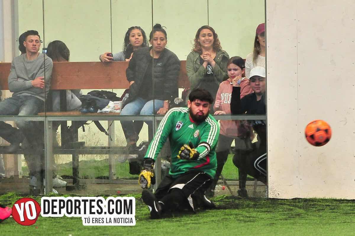Olinala-FC Real-Liga Douglas portero futbol indoor