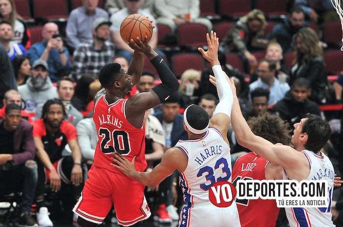 Rawle Alkins-Chicago Bulls-de 76ers Philadelphia