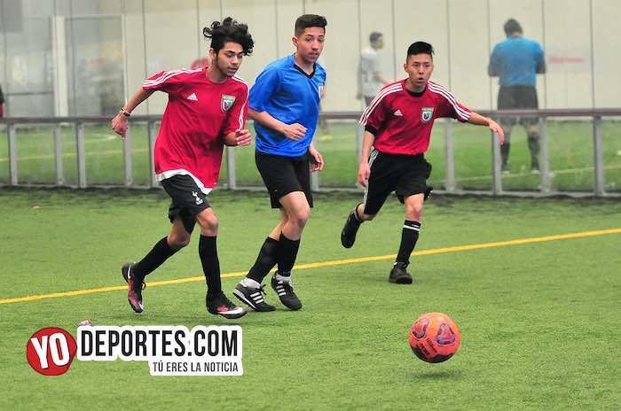 Real Sociedad golea al Santos en la Liga Douglas Kids