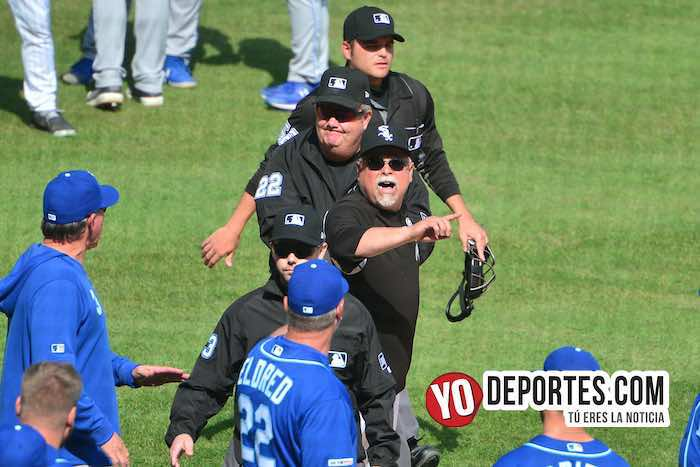 Rick Renteria ejected expulsado-Chicago White Sox-Kansas City Royals