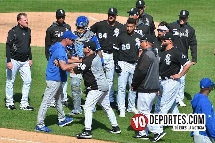 Rick Renteria expulsado ejected-Chicago White Sox-Kansas City Royals