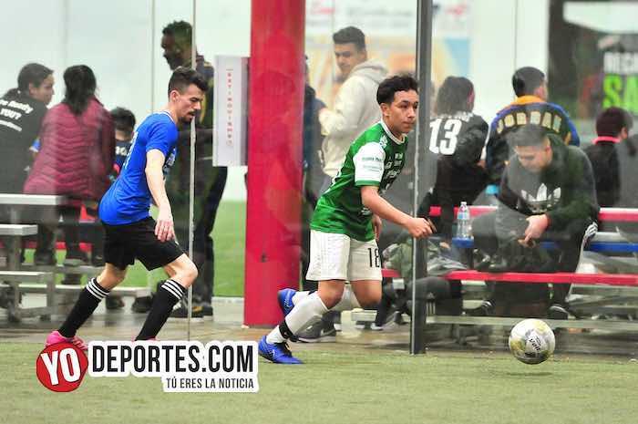 San Luis-Deportivo Maya-Liga 5 de Mayo futbol Chicago indoor