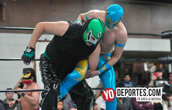 Super Kaoz-Yakuza-Disc Jocker-Lucha Libre Total Chicago