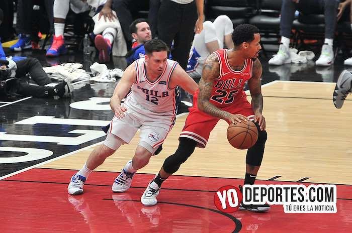 TJ McConnell-Walter Leon-Chicago Bulls-de 76ers Philadelphia